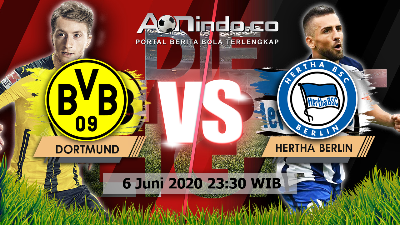 Prediksi Skor Borussia Dortmund vs Hertha Berlin