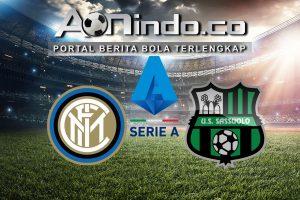 Prediksi Skor Inter Milan Vs Sassuolo