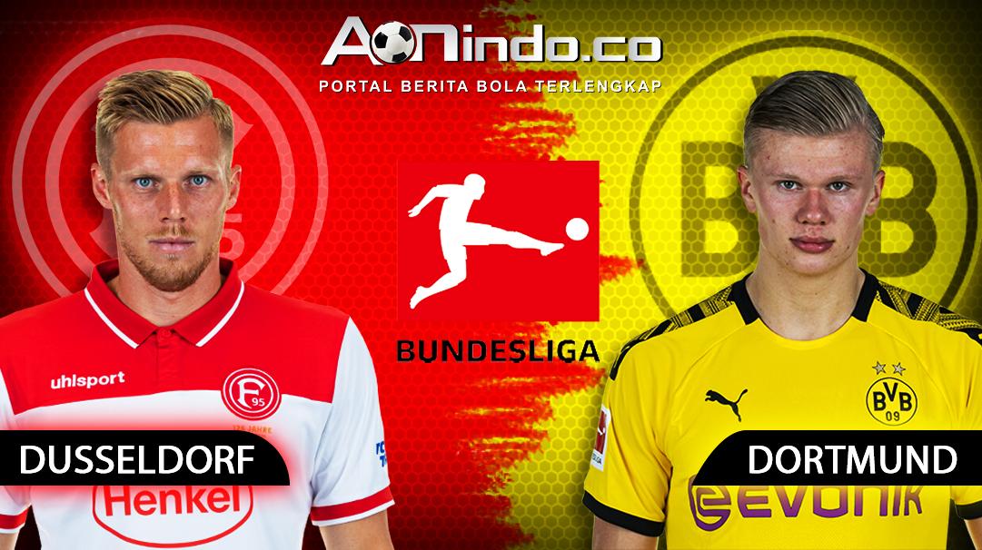 Prediksi Skor Fortuna Dusseldorf VS Borussia Dortmund