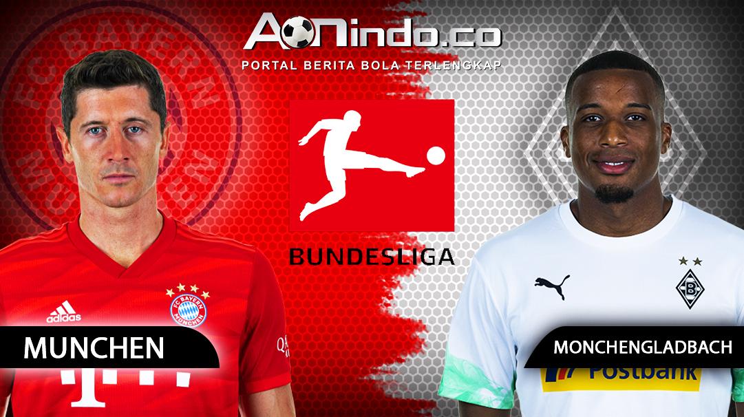 Prediksi Skor Bayern Munchen vs Monchengladbach