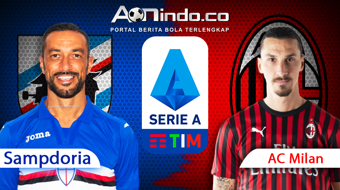 Prediksi Skor Sampdoria vs AC Milan
