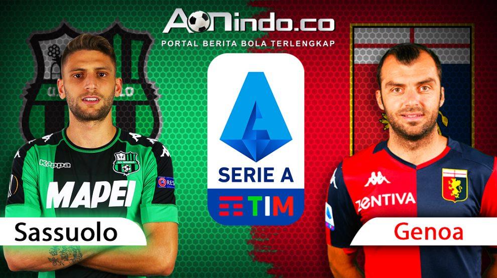 Prediksi Skor Sassuolo vs Genoa