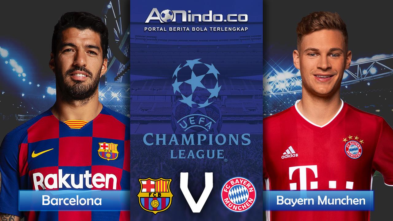 Prediksi Skor Barcelona Vs Bayern Munchen