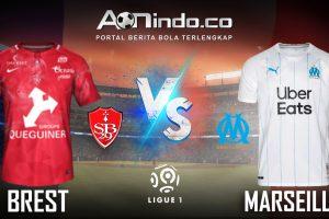 Prediksi Skor Brest vs Marseille