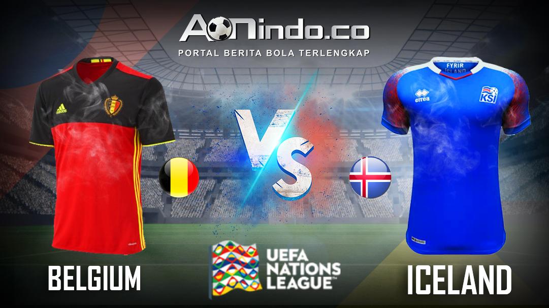 Prediksi Skor Belgia VS Iceland