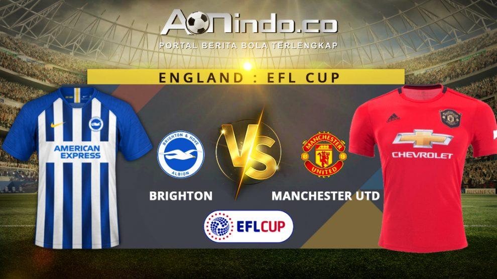 Prediksi Skor Brighton vs Manchester Utd