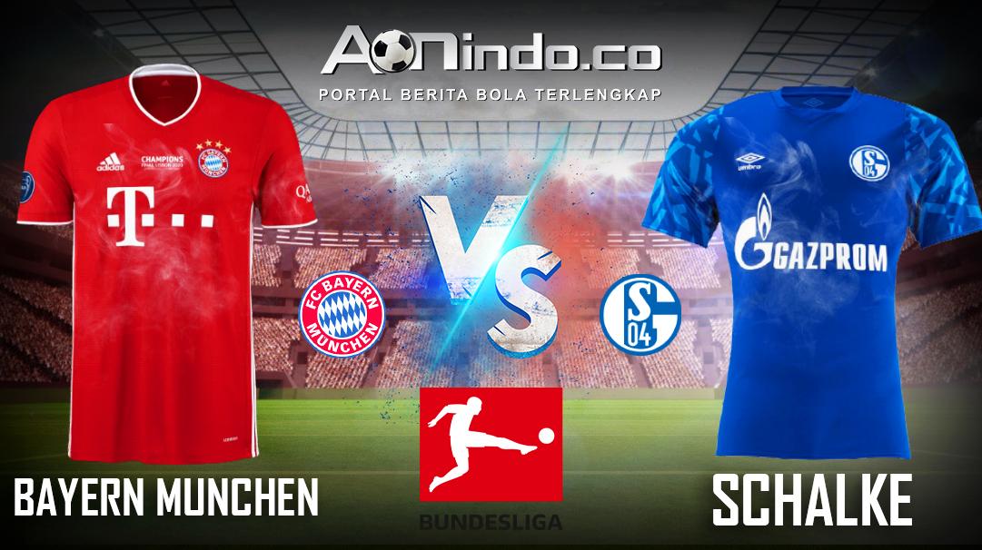 Prediksi Skor Bayern Munchen vs Schalke