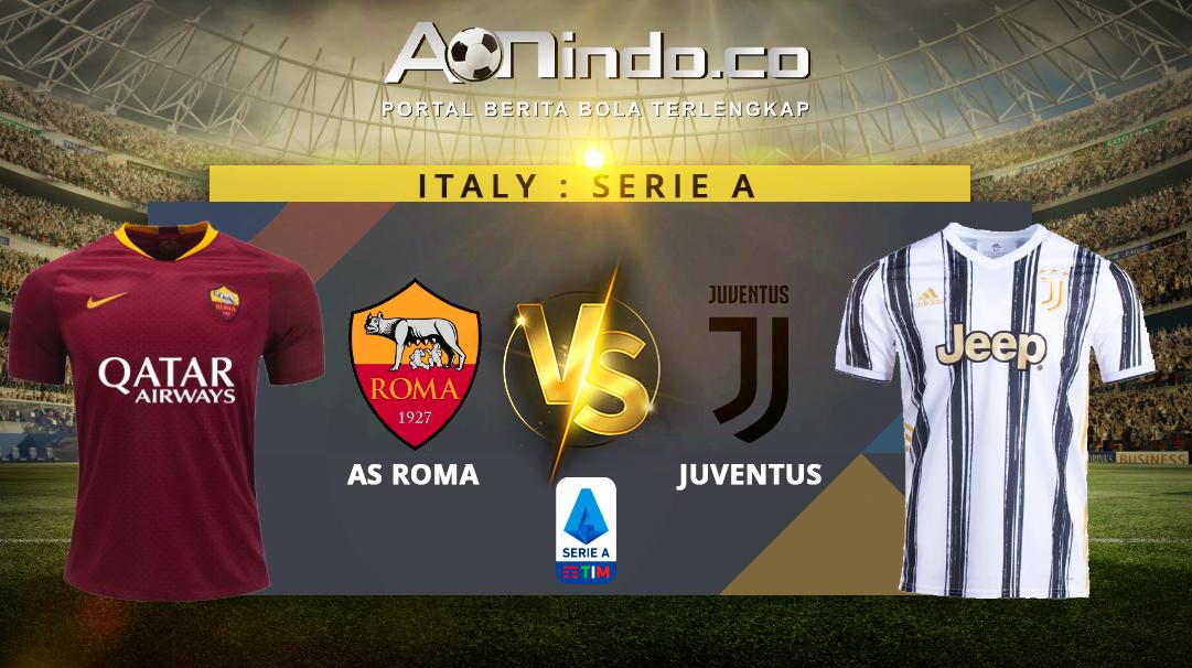 Prediksi Skor As Roma vs Juventus