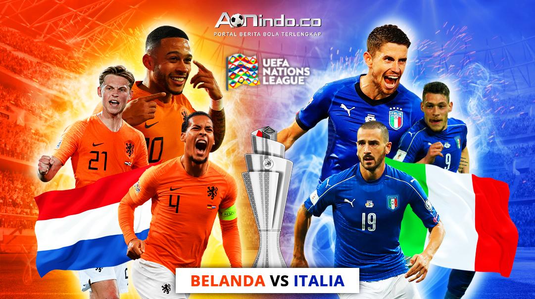 Prediksi Skor Belanda versus Italia