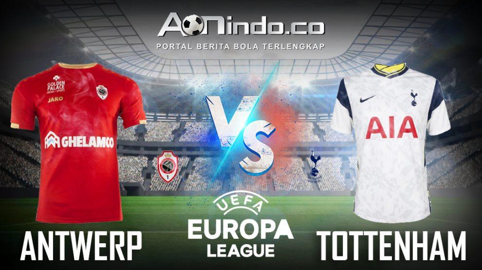 Prediksi Skor Antwerp vs Tottenham