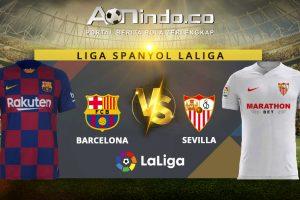 Prediksi Skor Barcelona vs Sevilla