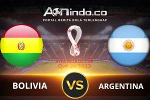 Prediksi Skor Bolivia Vs Argentina