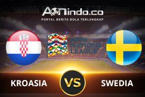 Prediksi skor Kroasia vs Swedia