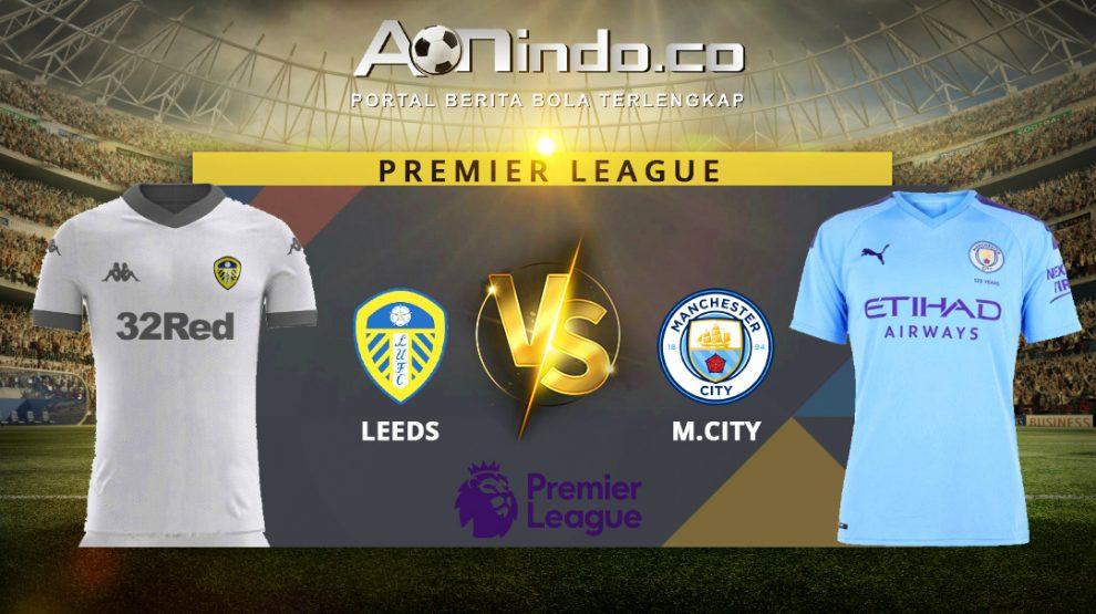 Prediksi Skor Leeds United vs Manchester City