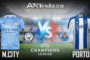 Prediksi Skor Manchester City vs Porto