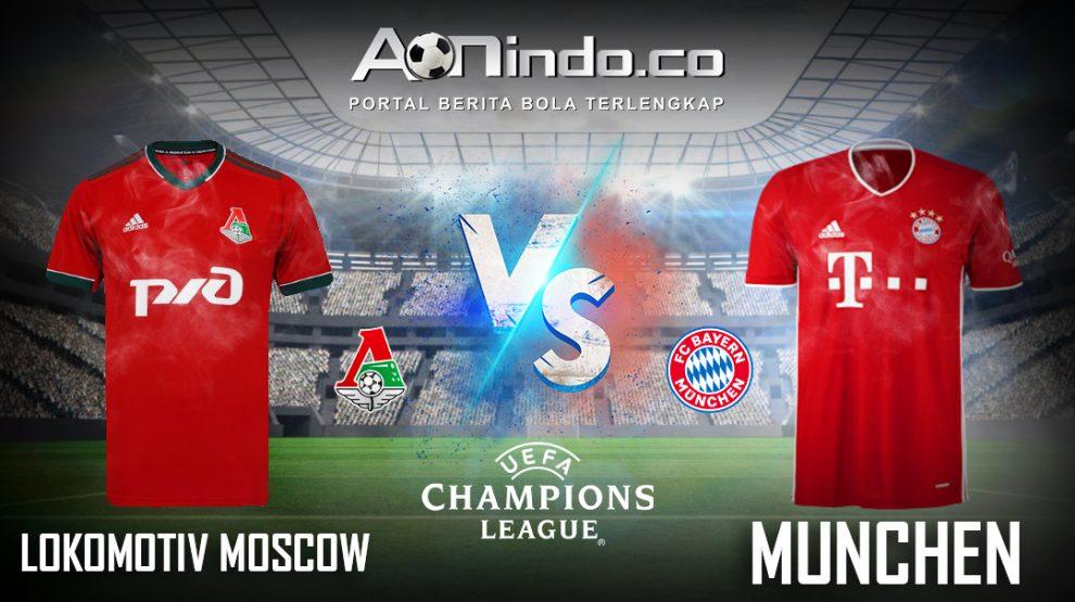 Prediksi Skor Lokomotiv Moscow vs Bayern Munich