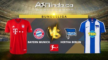 Prediksi Skor Bayern Munich vs Hertha Berlin