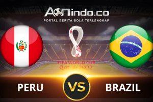 Prediksi Skor Peru vs Brasil