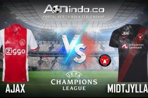 Prediksi Skor Ajax VS Midtjylland