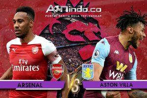 Prediksi Skor Arsenal vs Aston Villa
