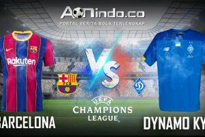 Prediksi Skor Barcelona vs Dynamo Kyiv