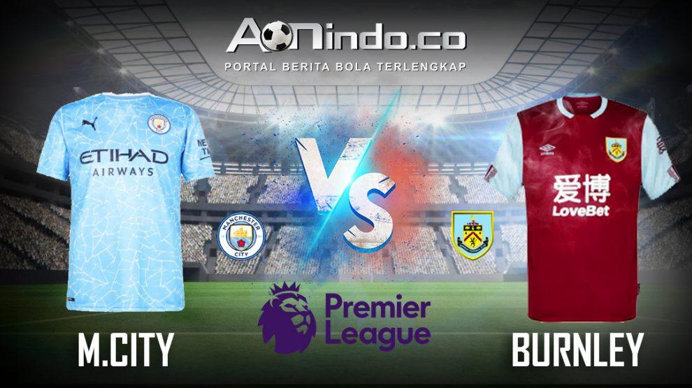 Prediksi Skor Manchester City vs Burnley