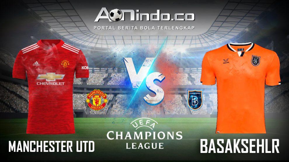 Prediksi Skor Manchester Utd vs Basaksehir