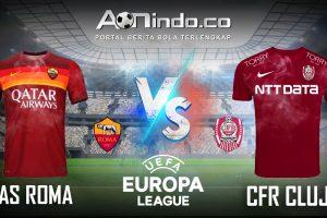 Prediksi Skor AS Roma vs CFR Cluj