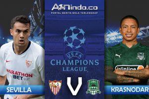 Prediksi Skor Sevilla vs Krasnodar