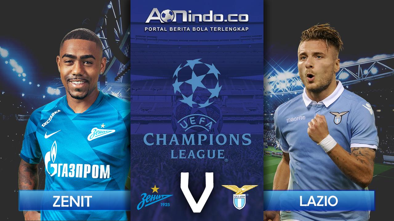 Prediksi Skor Zenit Vs Lazio Aon Indo News Liga Champions Prediksi