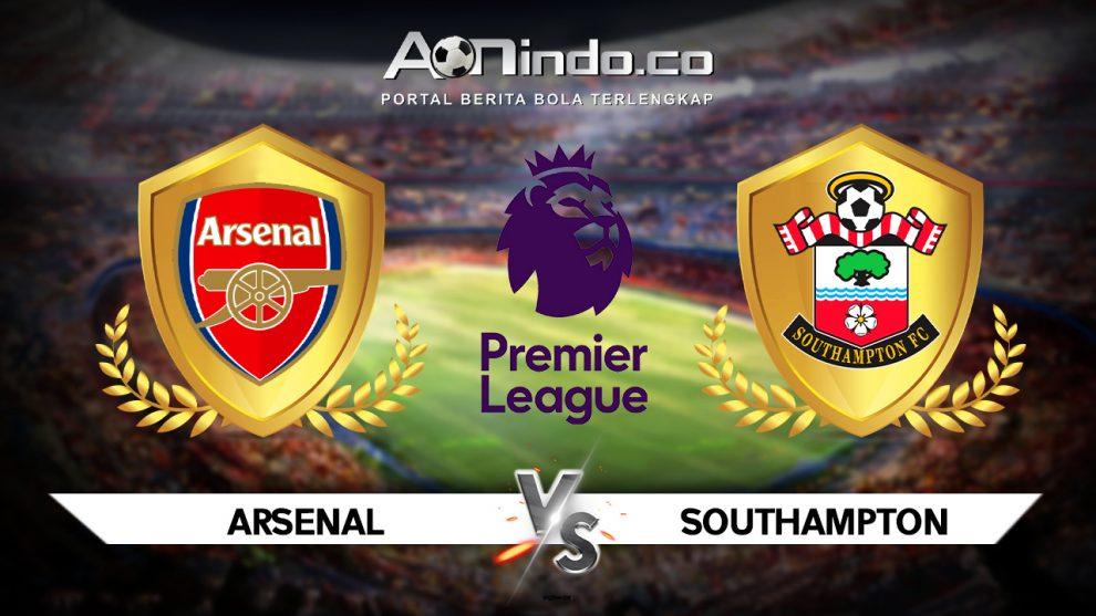 Prediksi Skor Pertandingan Arsenal Vs Southampton