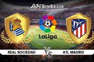 Prediksi Skor Real Sociedad vs Atletico Madrid