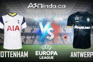 Prediksi Skor Tottenham vs Antwerp