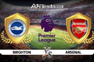 Prediksi Skor Pertandingan Brighton Vs Arsenal