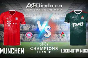 Prediksi Skor Bayern Munchen vs Lokomotiv Moscow