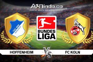 Prediksi Skor Hoffenheim vs FC Koln