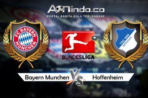 Prediksi Skor Bayern Munchen vs Hoffenheim