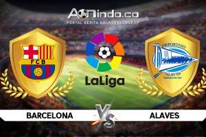 Prediksi Skor Barcelona vs Alaves