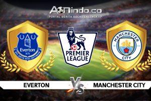 Prediksi Skor Pertandingan Everton Vs Manchester City