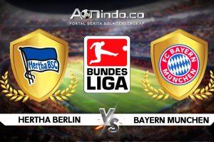 Prediksi Skor Hertha Berlin vs Bayern Munchen