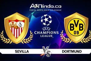 Prediksi Skor Sevilla vs Dortmund