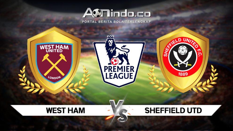 Prediksi Skor West Ham vs Sheffield United