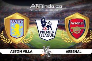 Prediksi Skor Aston Villa vs Arsenal