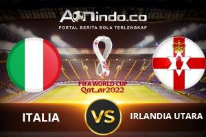 Prediksi Skor Italia vs Irlandia Utara