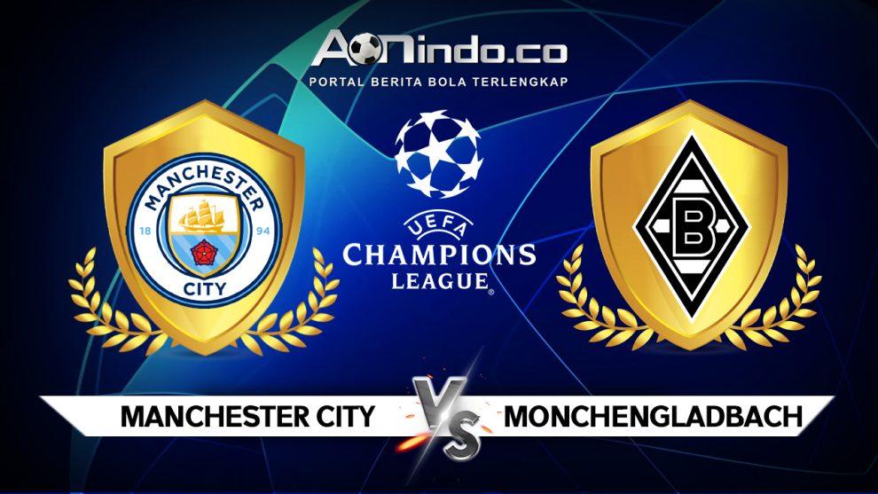Prediksi Skor Manchester City vs Borussia Monchengladbach
