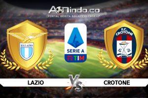 Prediksi Pertandingan Lazio vs Crotone