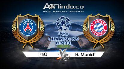 Prediksi Skor Pertandingan PSG Vs Bayern Munchen