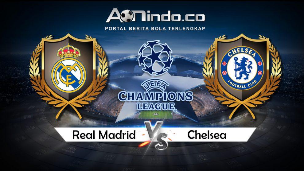 Prediksi Skor Real Madrid Vs Chelsea