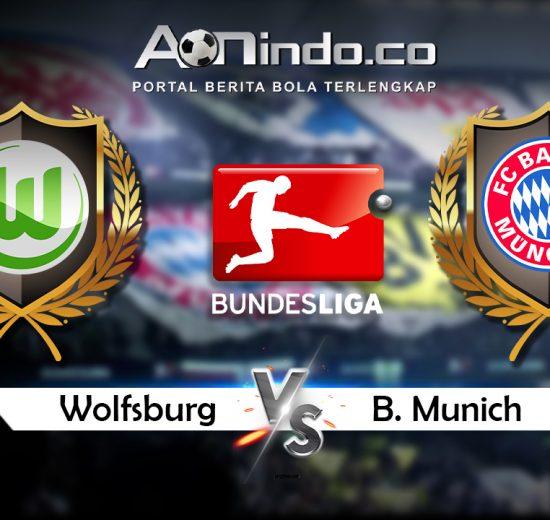 Prediksi Pertandingan Wolfsburg vs Bayern Munchen