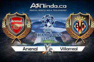 Prediksi Skor Arsenal Vs Villarreal
